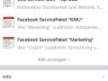 Facebook Seiten App Start Services
